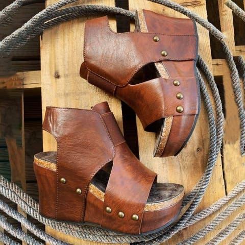 Women's Fashionable Retro Wedge Sandals