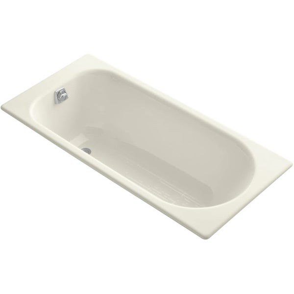 Kohler K 941 Soissons 60 Drop In Cast Iron Soaking Bath Tub With Reversible