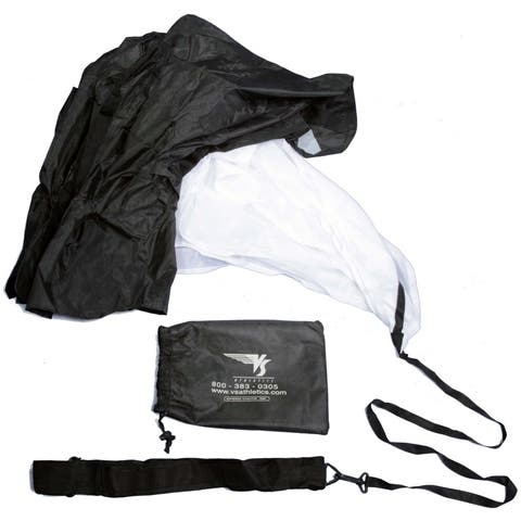 Stroops Speed Training Parachute - Black/White