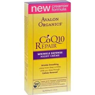 Avalon Organics - Coq10 Wrinkle Defense Night Creme ( 1 - 1.75 OZ)