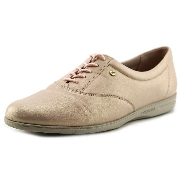 Easy Spirit Motion Women N/S Round Toe Leather Pink Oxford