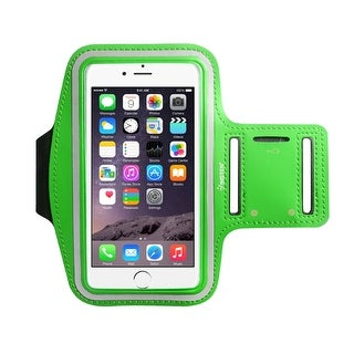 Insten Universal Sports Workout Gym Armband with Key Holder for iPhone 7 Plus/ 6s Plus/ 6 Plus/ Samsung Galaxy Note 5/ S7/ LG G5 (4 options available)