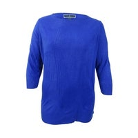 0a227850fc7e3 Shop Karen Scott Womens Plus Size Cable-Knit Mock-Neck Sweater ...