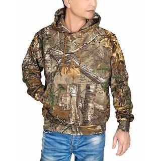 Men's Realtree Xtra Hunting Hooded Sweatshirt Camo Outdoor Hoodie