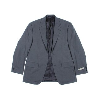MICHAEL Michael Kors Mens Wool Two-Button Blazer