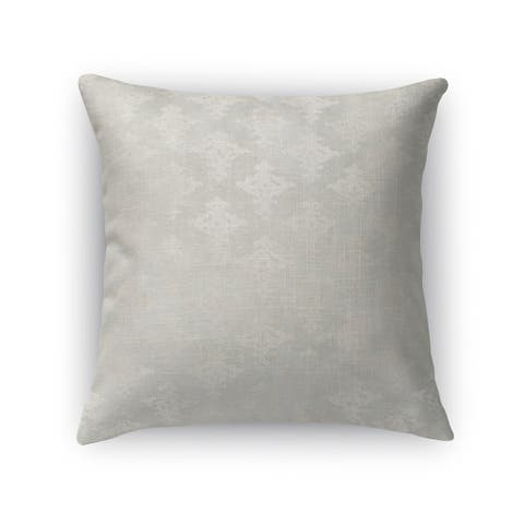 Kavka Designs grey vasos accent pillow with insert