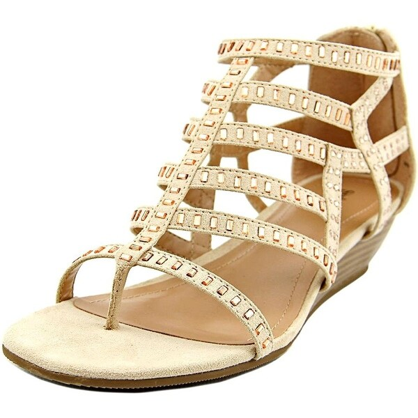 Style & Co. Womens Bradey Square Toe Casual Platform Sandals