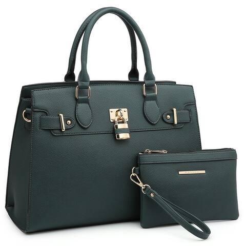 Women Handbag Fashion Ladies Shoulder Bag Top Handle Satchel Purse 2 PCs