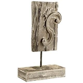 Cyan Design Arleen Sculpture Arleen 20.25 Inch Tall Cement, Wood Iron Sculpture