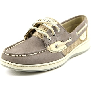 Sperry Top Sider Ivyfish Moc Toe Leather Boat Shoe