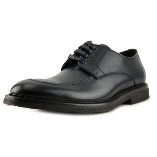 To Boot New York Marc Men Apron Toe Leather Black Oxford