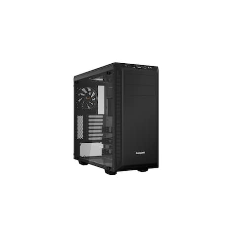 be quiet! Pure Base 600 No Power Supply ATX Mid Tower with Window (Black)