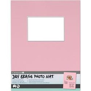 "Pink - Dry-Erase 11""X14"" Photo Mat Holds 4""X6"" Photo"
