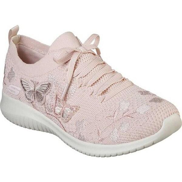 06a1158c5461c Shop Skechers Women s Ultra Flex Fly Away Sneaker Light Pink - On Sale -  Free Shipping Today - Overstock - 26975593