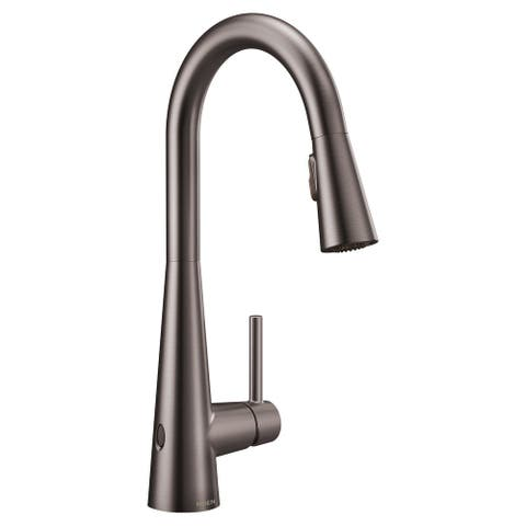 Moen 7864EW Sleek 1.5 GPM Single Hole Pull Down Kitchen Faucet with