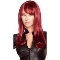 Burgundy Wig, Poison Ivy Wig - One Size Fits most