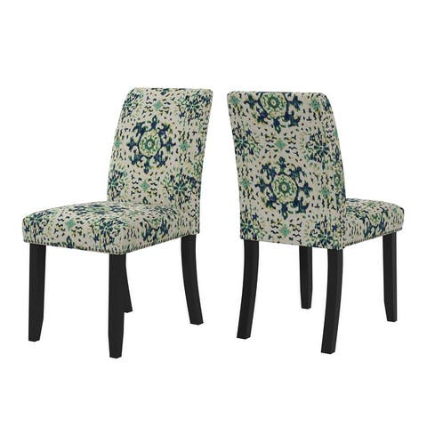 Copper Grove Madelyn Upholstered Armless Dining Chairs (Set of 2)