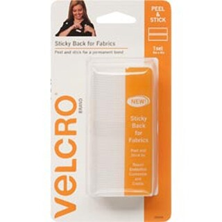 """White - Velcro(R) Brand Sticky Back For Fabric Tape 4""""X6"""""""