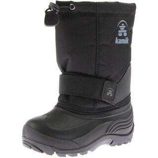 Kamik Rocketw Toddler Boys Cinch Top Snow Boots - 11 medium (d)