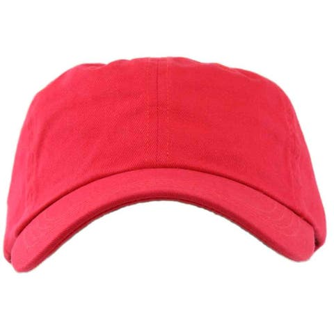 Page & Tuttle Womens Solid Washed Twill Cap Golf Hats Baseball
