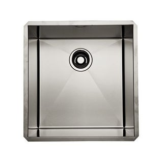 """Rohl RSS1718 18"""" Undermount 16 Gauge Stainless Steel Kitchen Sink"""