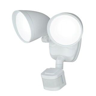 Vaxcel Lighting T0170 Tau 2 Light LED Motion Sensor Photocell Outdoor Flood Light