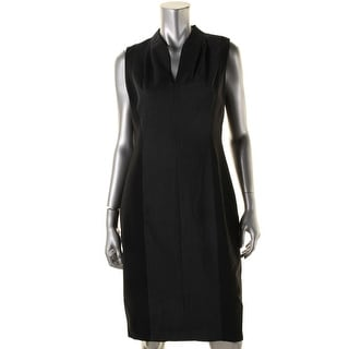Elie Tahari Womens Amabel Pattern Sleeveless Wear to Work Dress