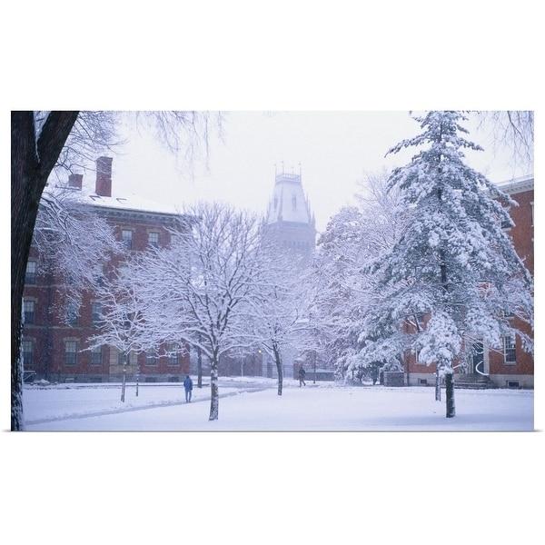 "Cambridge Poster Print /""MA Harvard University/"""