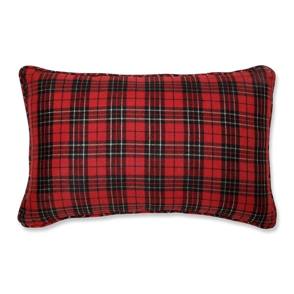 """20"""" Country Rustic Perfectly Plaid Decorative Christmas Throw Pillow"""