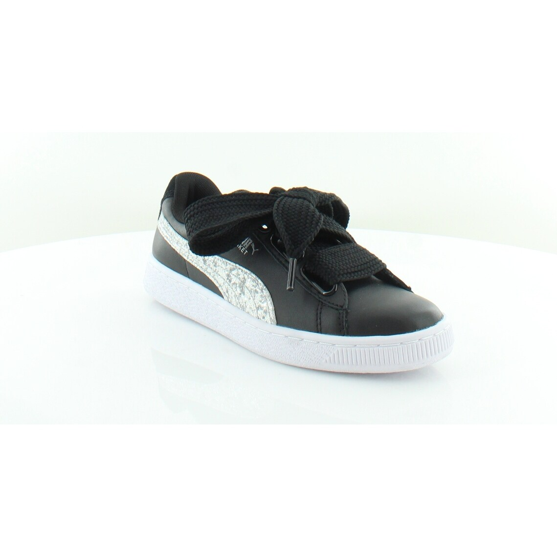 Shop Puma Puma Fierce Evoknit Metallic Sneaker, BlackSilver