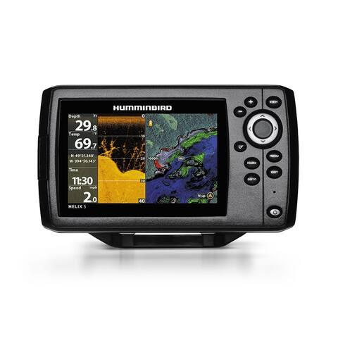 Humminbird 410220-1 Helix 5 CHIRP DI/GPS G2 Combo with DualBeam PLUS