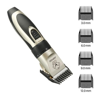 Link to Pet Dog Cat Hair Trimmer Shaver Clipper Grooming Kit Animal Hair Cutter Cordless - M Similar Items in Dog Grooming