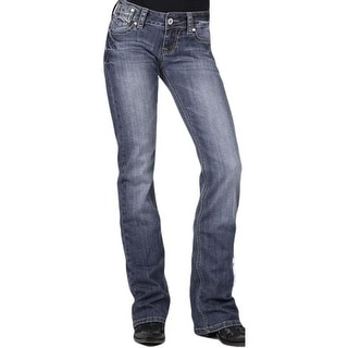 Stetson Western Denim Jeans Womens Slim Fit Medium