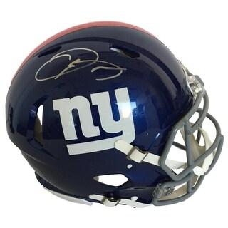 Odell Beckham Jr. Signed NY Giants Full Size Authentic On Field Speed Helmet JSA