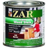 ZAR 14006 Interior Oil-Based Wood Stain, Merlot, 1/2 Pint