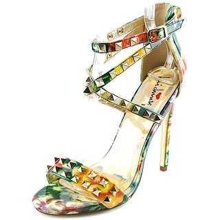Luichiny Humor Me Women Open Toe Synthetic Multi Color Sandals