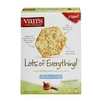 Van's Natural Foods - Gluten Free Lots Of Everything Crackers ( 6 - 5 OZ)