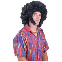 Afro with Chops Wig Adult Costume Accessory