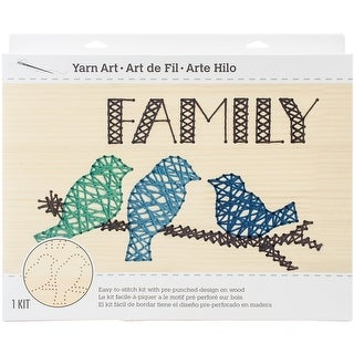 "String Art Kit-Family 14""X9"""