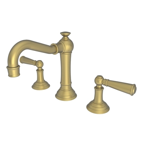 Newport Brass 2470 Double Handle Widespread Bathroom Faucet from the Jacobean Collection