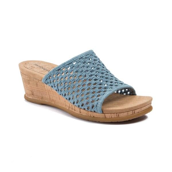 Baretraps Flossey Women's Sandals & Flip Flops Washed Denim