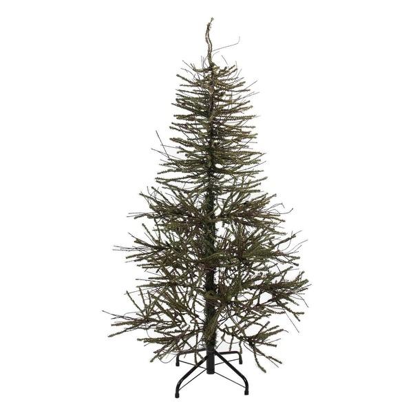"4' x 28"" Warsaw Twig Artificial Christmas Tree - Unlit"