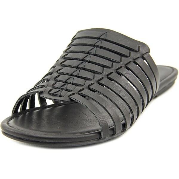 American Rag Paige Women Open Toe Synthetic Black Slides Sandal