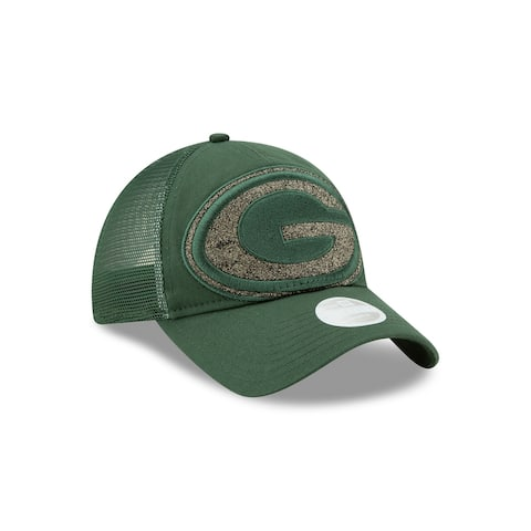 Green Bay Packers Shined Up Women's Trucker Hat