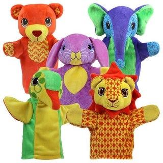 Friendly Animal Puppet Set (Set of 5)