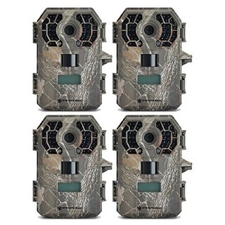 Stealth Cam G42NG No Glo Trail Game Camera 4 Pack Bundle
