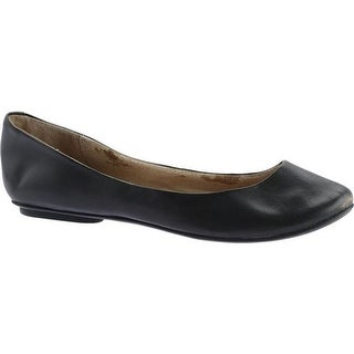 Kenneth Cole Reaction Women's Slip On By Flat Black Leather