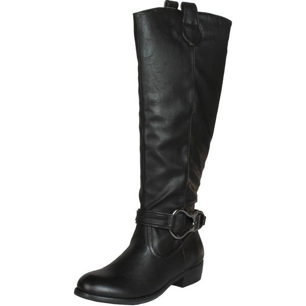 Wanted Shoes Women's Jockey Knee-High Boot