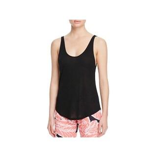 Alo Yoga Womens Tank Top Jersey Ribbed