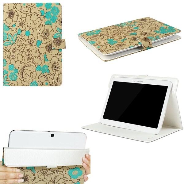 "JAVOedge Poppy Universal 9""-10"" Tablet Case for iPad Air, Samsung Note, Tab 3, Nook HD+ 9, Nexus 10 (Turquoise)"